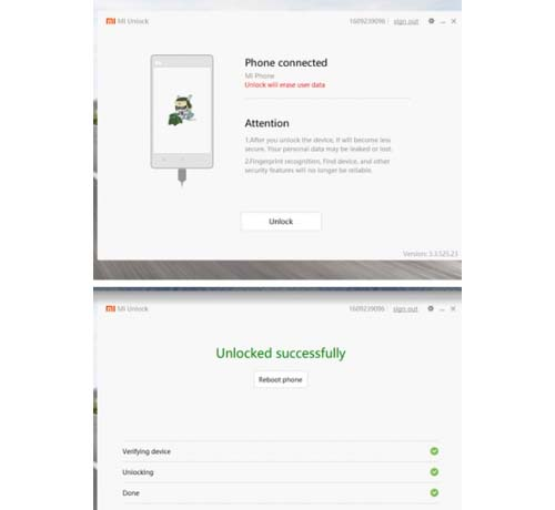How to unlock the bootloader on xiaomi MIUI system